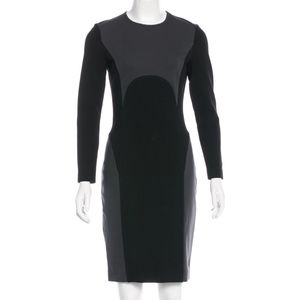 MICHAEL KORS Long Sleeve Stretch Knit Dress